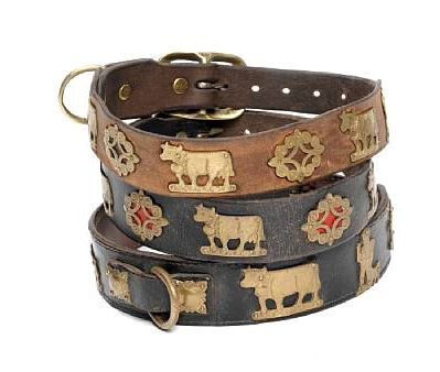 Swiss Dog Collars Cows